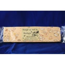 Nougat au miel de montagne 70 g